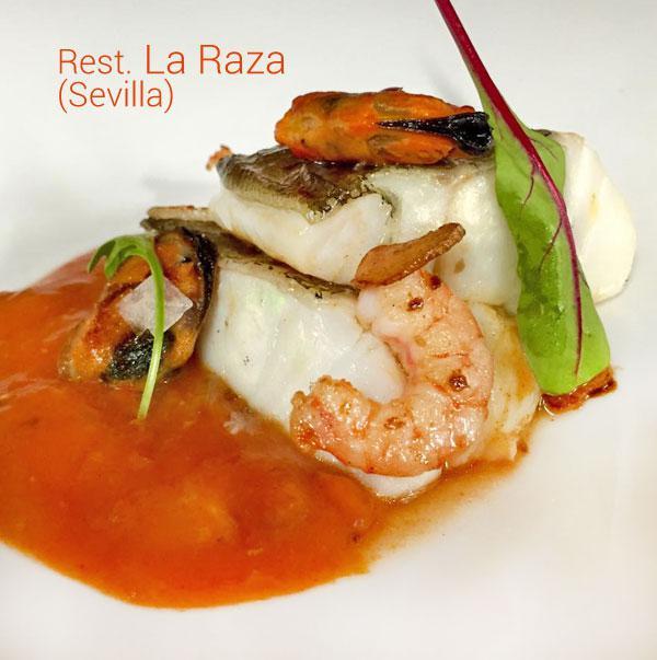 Receta Alta Cocina | Receta De Bacalao Confitado Con Langostinos Divina Cocina
