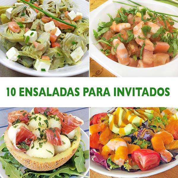 10 ensaladas para invitados divina cocina for Ideas ensaladas originales