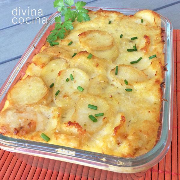 Grat n de bacalao con patatas divina cocina for Cocina bacalao con patatas