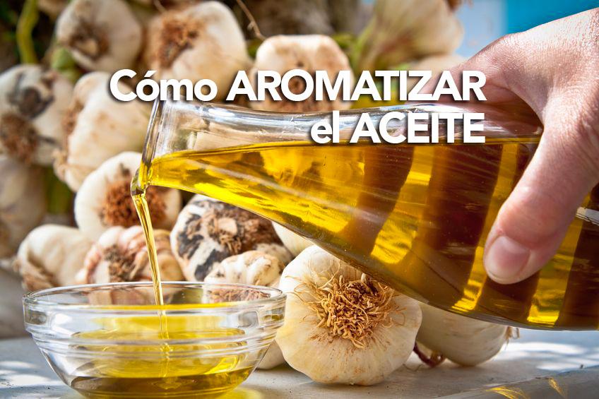 aromatizar aceite de oliva