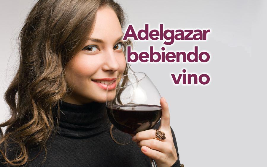 como adelgazar bebiendo vino