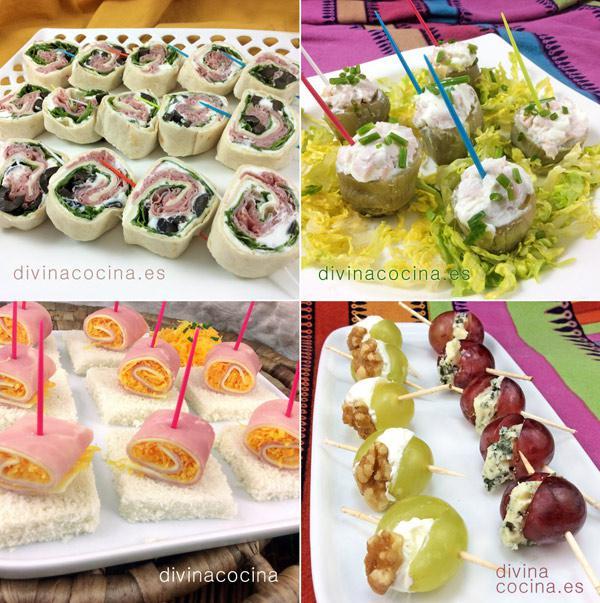 10 aperitivos f ciles para invitados y fiestas divina cocina - Cenas especiales para hacer en casa ...