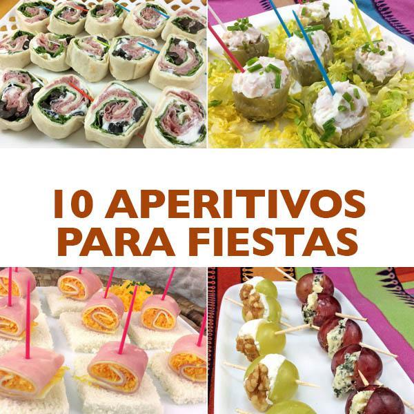 10 aperitivos f ciles para invitados y fiestas divina cocina for Cocina para fiestas