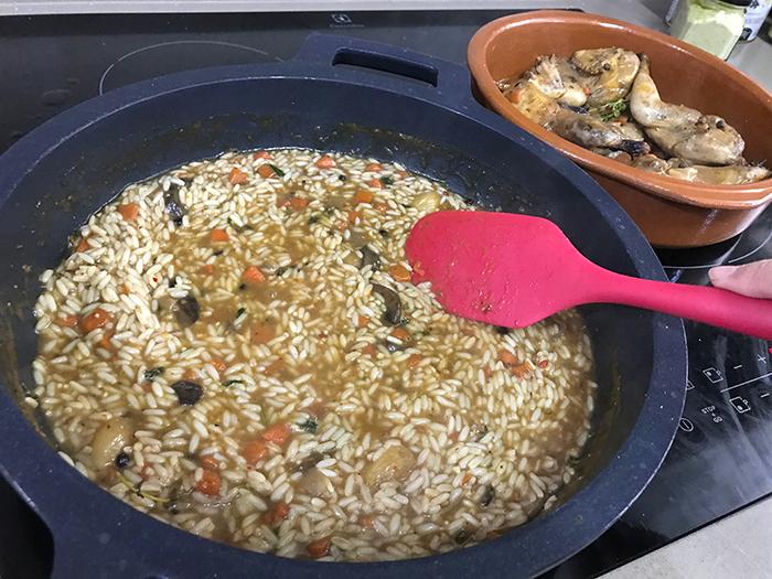 receta de arroz con perdiz