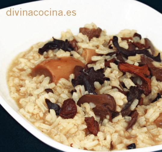 arroz-con-setas