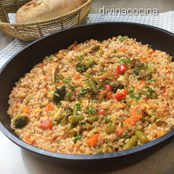 arroz-hortelano-en-paella