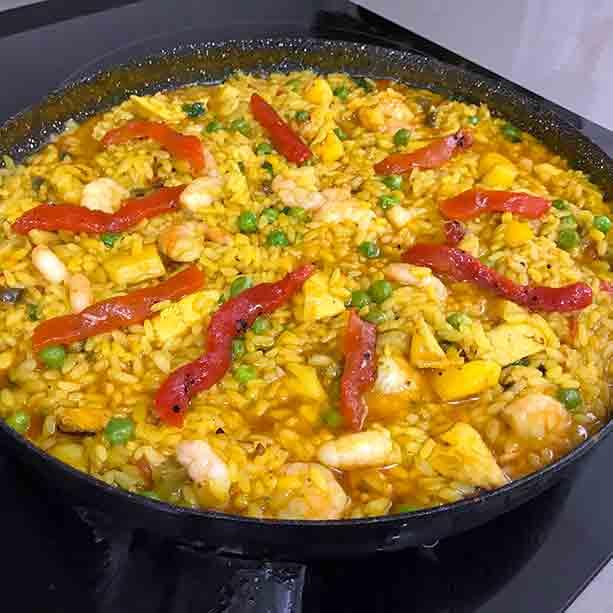 arroz fácil mar y montaña