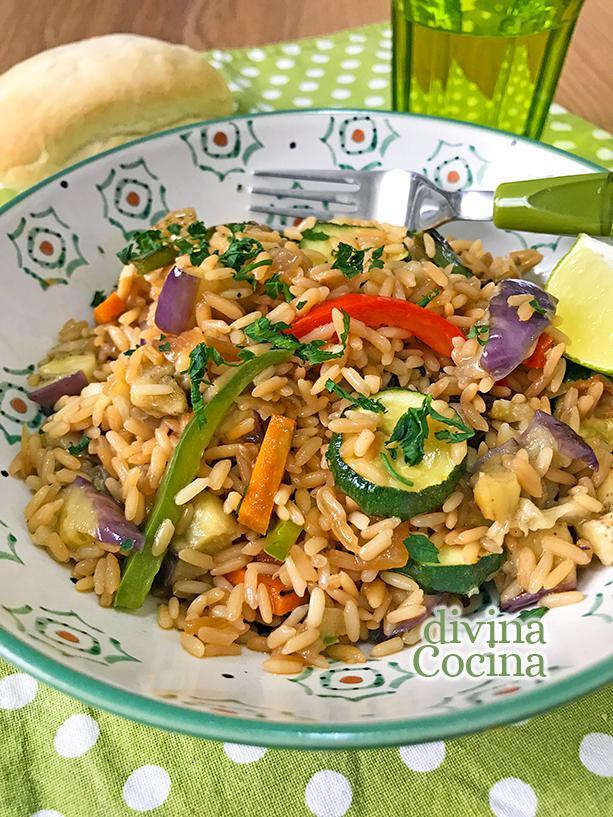 arroz salteado con verduras 3