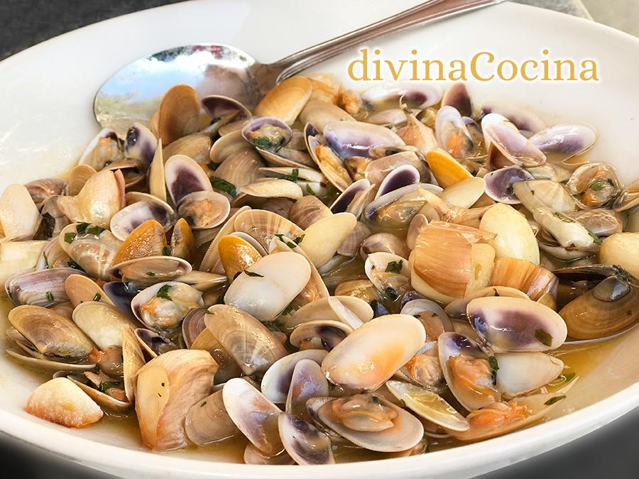 receta de coquinas al ajillo f cil y r pida divina cocina