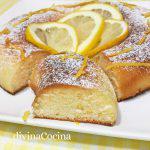 Bizcocho de limón en microondas en 10 minutos