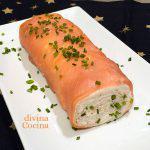 Brazo de gitano de salmón