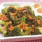 Brócoli con ajada