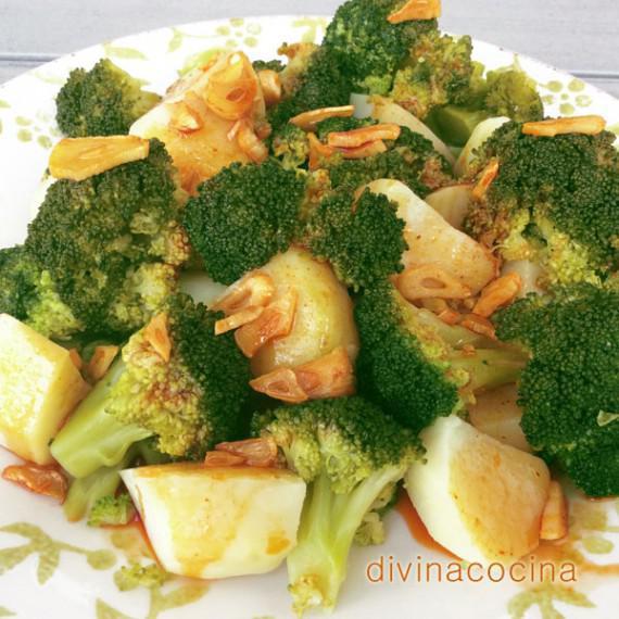 brocoli-con-patatas-al-ajoarriero