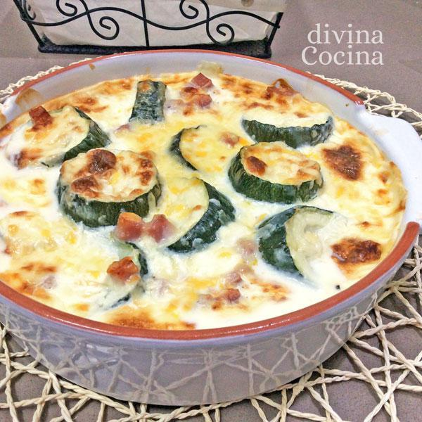 Receta de calabacines al horno f ciles divina cocina - Recetas de bogavante al horno ...