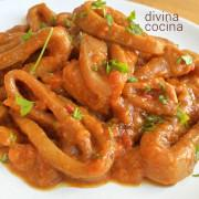 calamares-en-salsa-americana