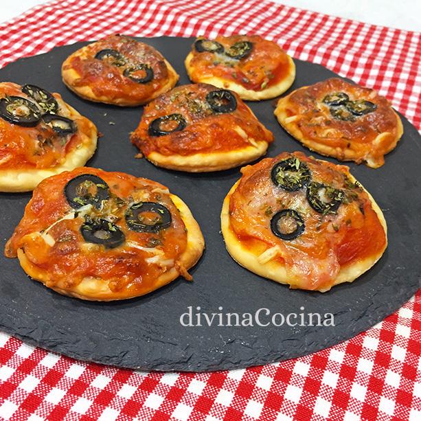 canapes de pizza