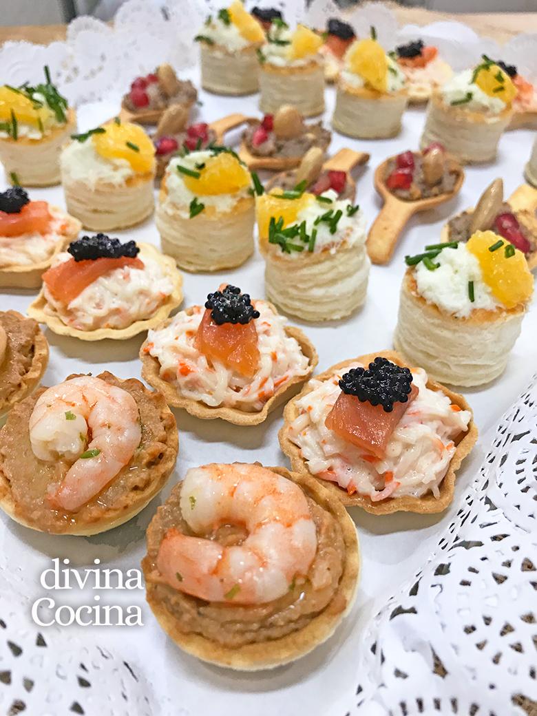 Recetas de canap s fr os f ciles y r pidos divina cocina for Canapes faciles y rapidos frios