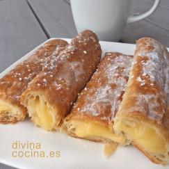 canas-de-hojaldre-y-crema-pastelera