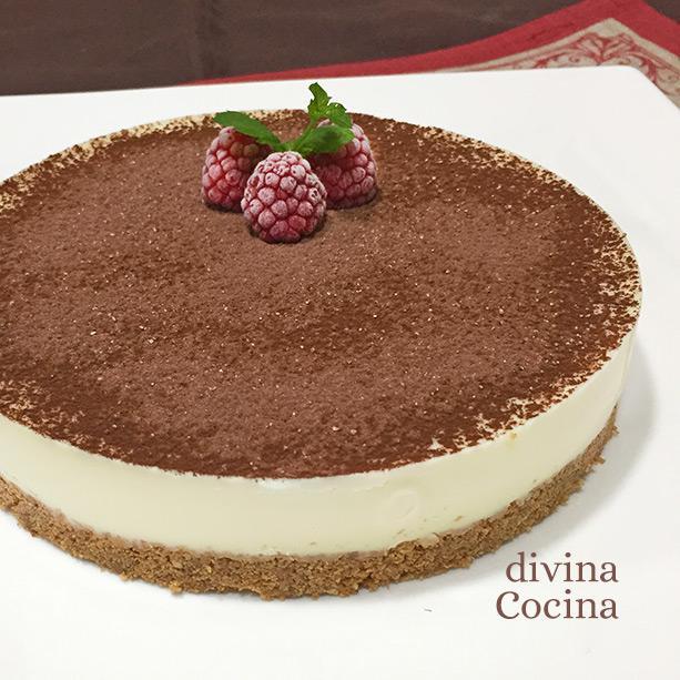 cheesecake chocolate blanco entero