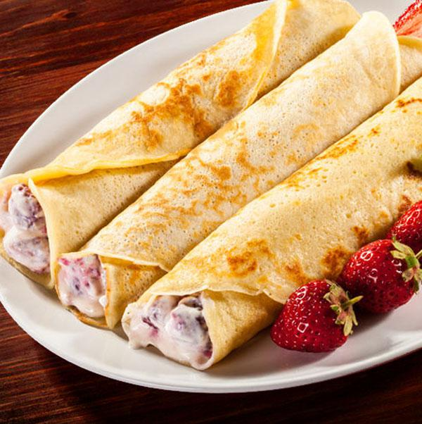 crepes dulces