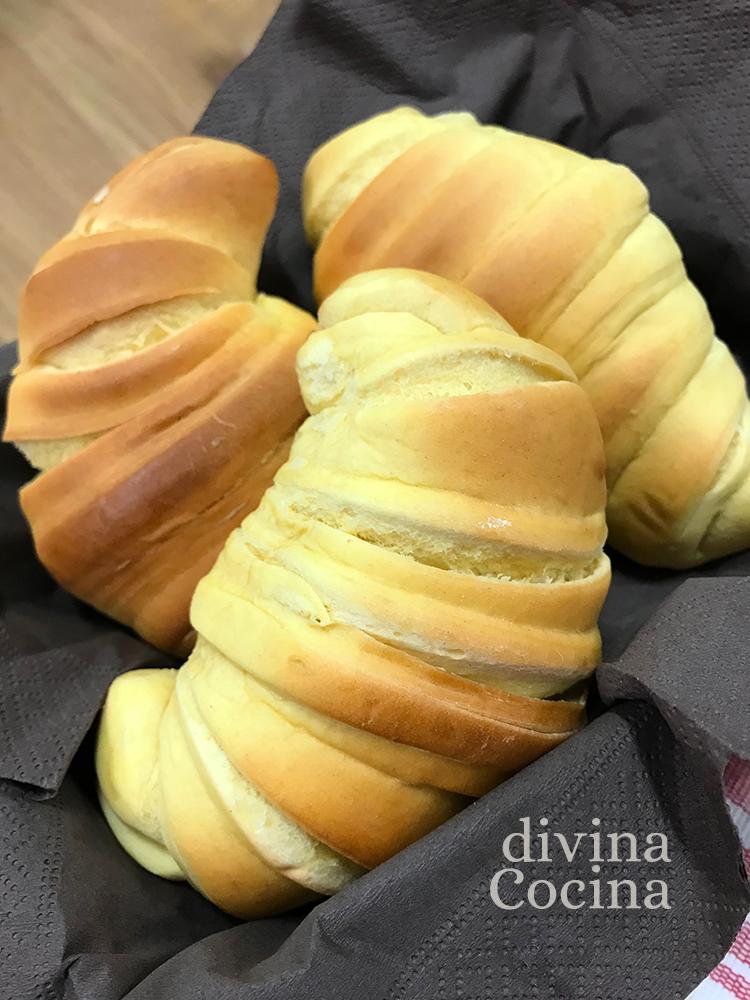 receta croissants de masa casera