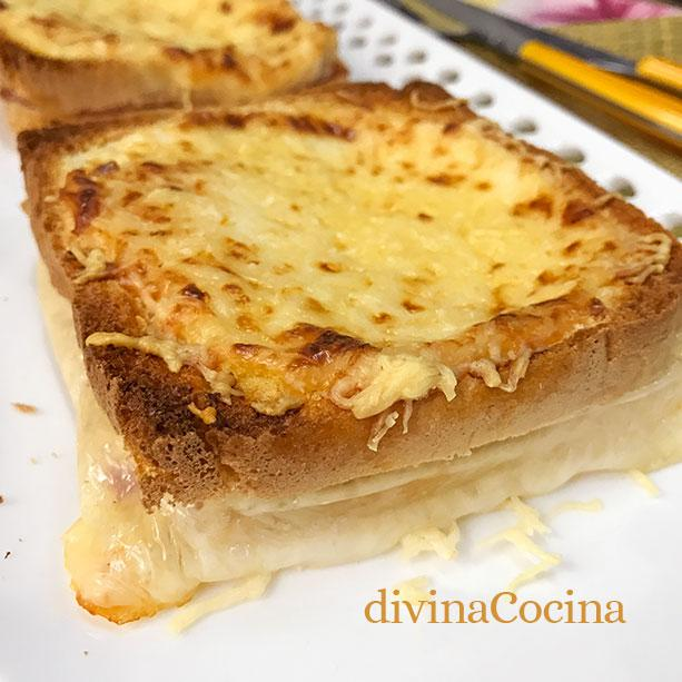 croque monsieur D