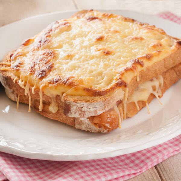 Croque monsieur y croque madame divina cocina for Cenas sencillas y originales