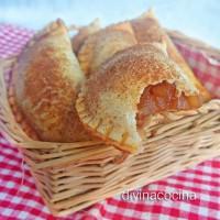 Empanadillas de manzana y pasas