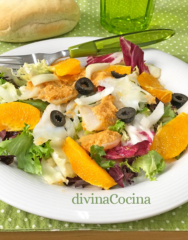 ensalada de bacalao romesco 1