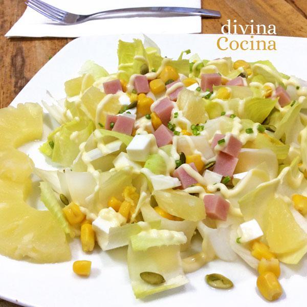 ensalada-de-endivia-pavo-pina