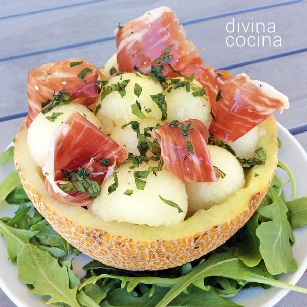 ensalada-de-melon-con-jamon-1