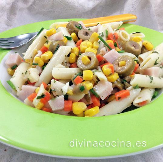 Ensaladas de pasta varias divina cocina for Ideas ensaladas originales
