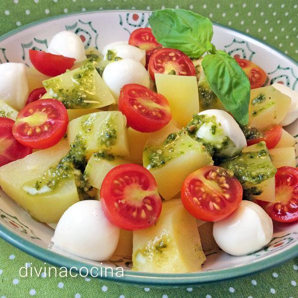 ensaladas con patatas