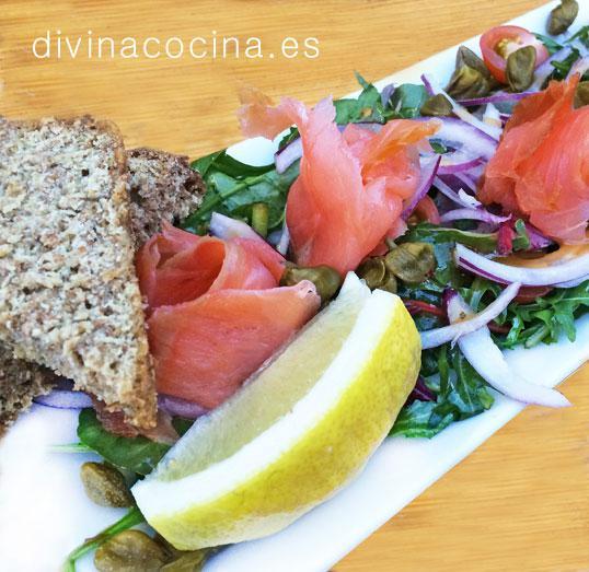 ensalada-de-salmon-ahumado