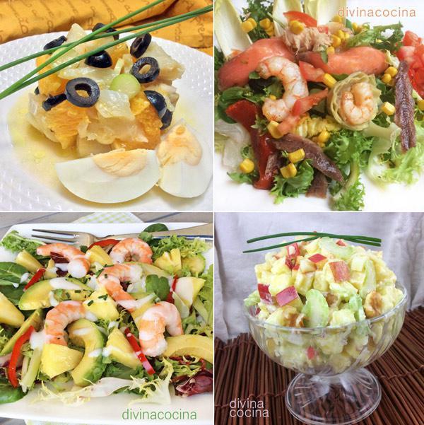 top 7 ensaladas de fiesta divina cocina