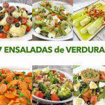 7 Ensaladas de verduras