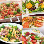 7 ensaladas bajas en calorías