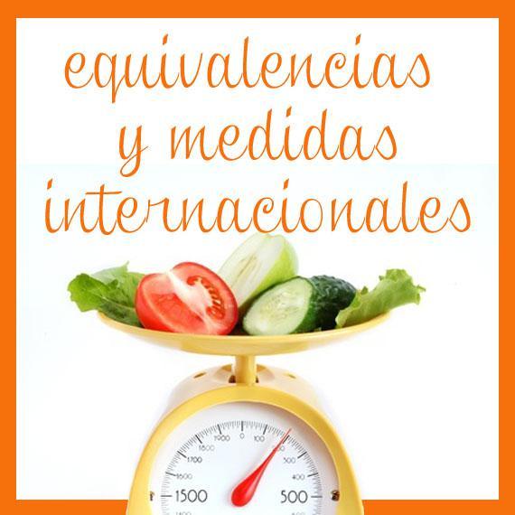 Tablas de equivalencias de pesos y medidas divina cocina for Tecnicas gastronomicas pdf