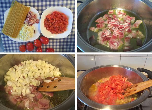 espagueti-amatriciana-paso-a-paso