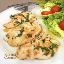 filetes-de-pollo-al-ajillo