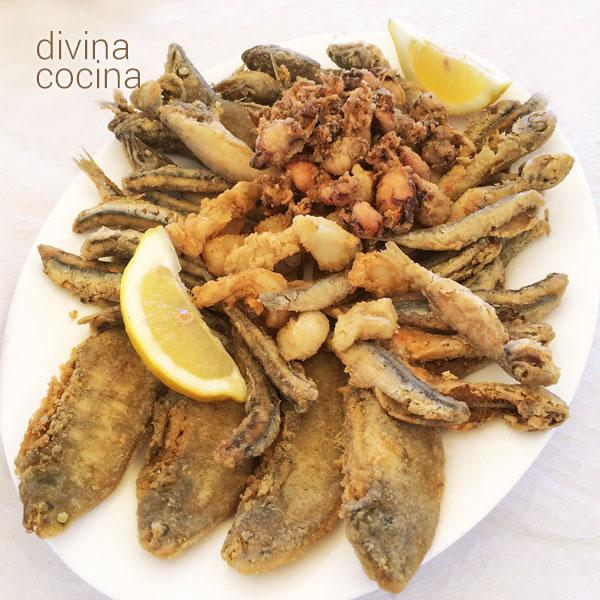 Pescaíto Frito Fritura Andaluza Cocina