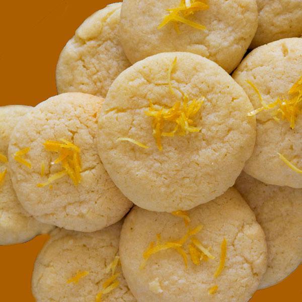 galletas-de-limon-en-una-bandeja