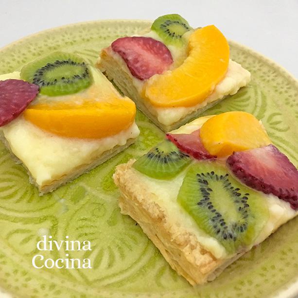 hojaldre-crema-frutas-pasteles