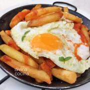 huevos-con-patatas-bravas