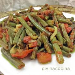 judias-verdes-con-tomate