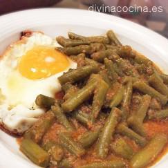 judias-verdes-esparragadas-plato
