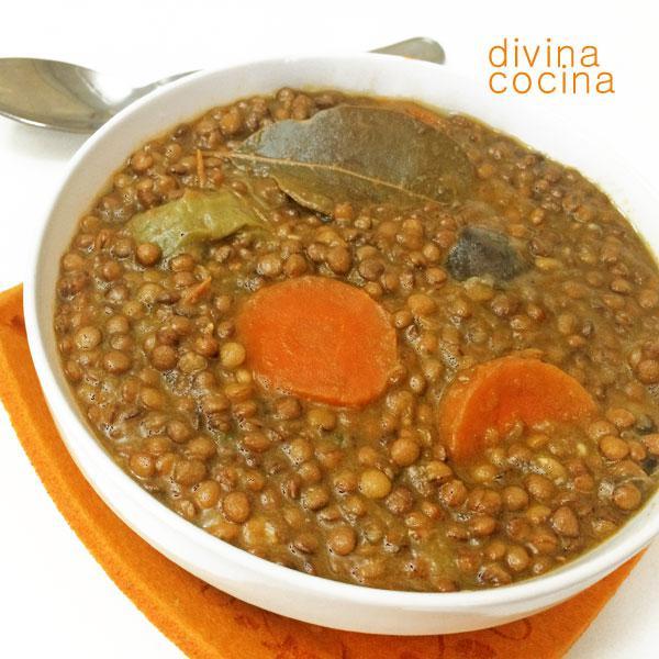 Lentejas Con Lentejas Con Verduras al Curry