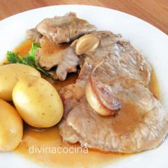 lomo-de-cerdo-al-ajillo