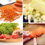 Los cortes de la verdura