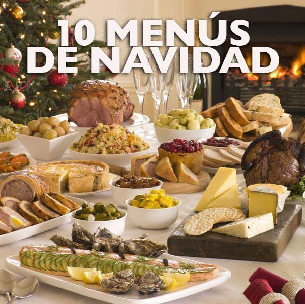recetas menus de navidad